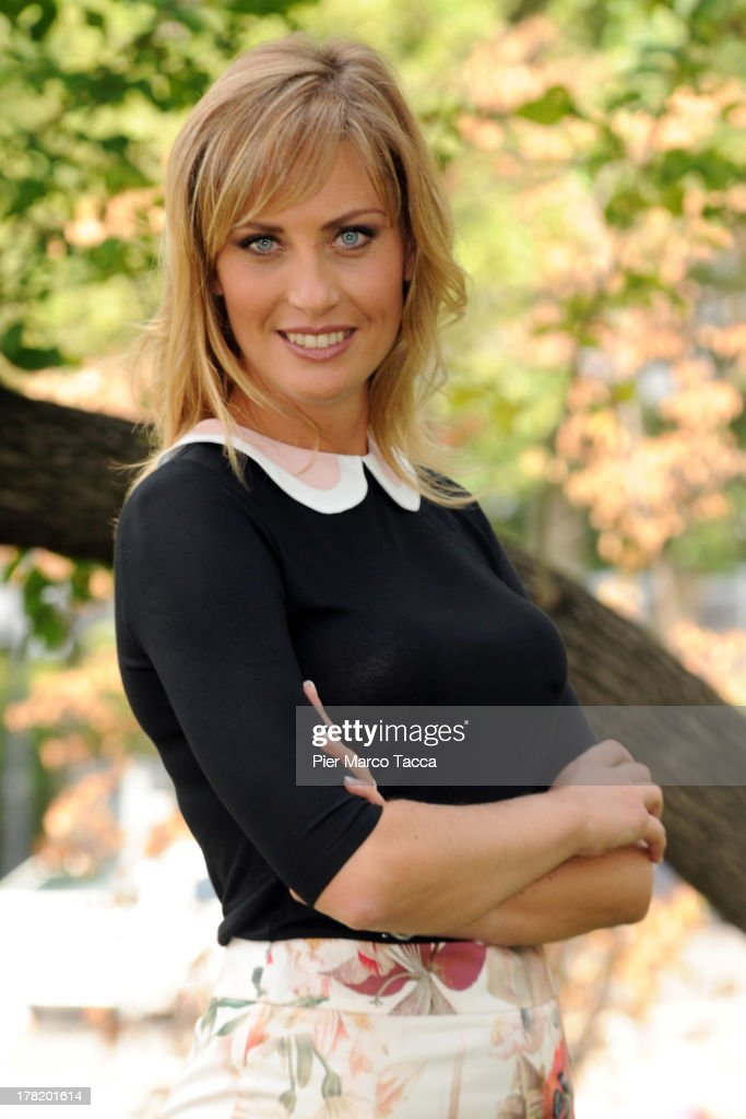 Chiara Giallonardo attends RAI Autumn programming presentation on August 27, 2013 in Milan, Italy.