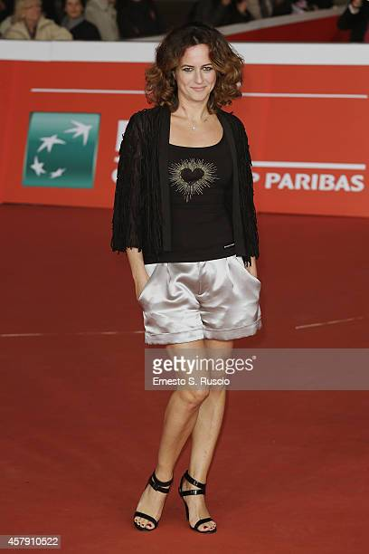 Chiara Giordano attends the 'Il Postino' red carpet during the 9th Rome Film Festival on October 26 2014 in Rome Italy