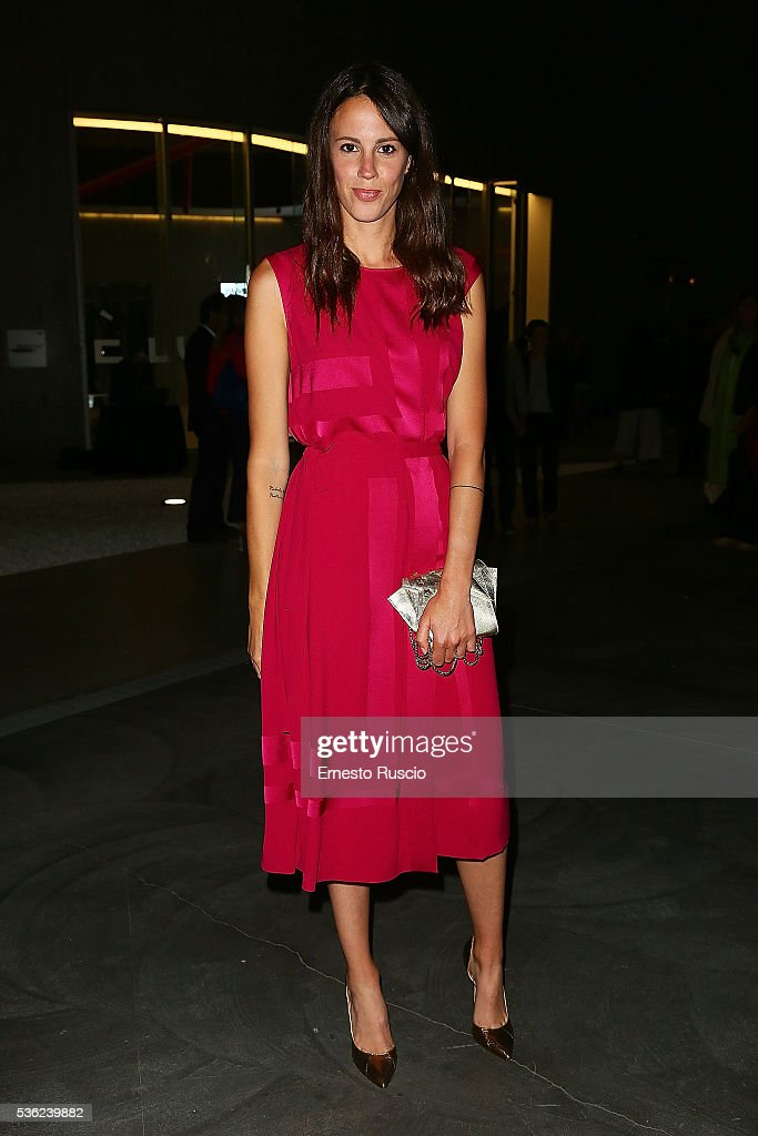 Chiara Martegiani attends the Nastri D'Argento 2016 Award Nominations at Maxxi Museum on May 31, 2016 in Rome, Italy.
