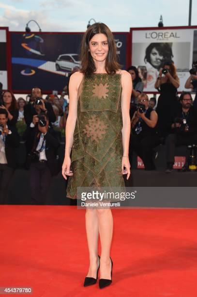 Chiara Mastroianni attends the '3 Coeurs' premiere during the 71st Venice Film Festival on August 30 2014 in Venice Italy
