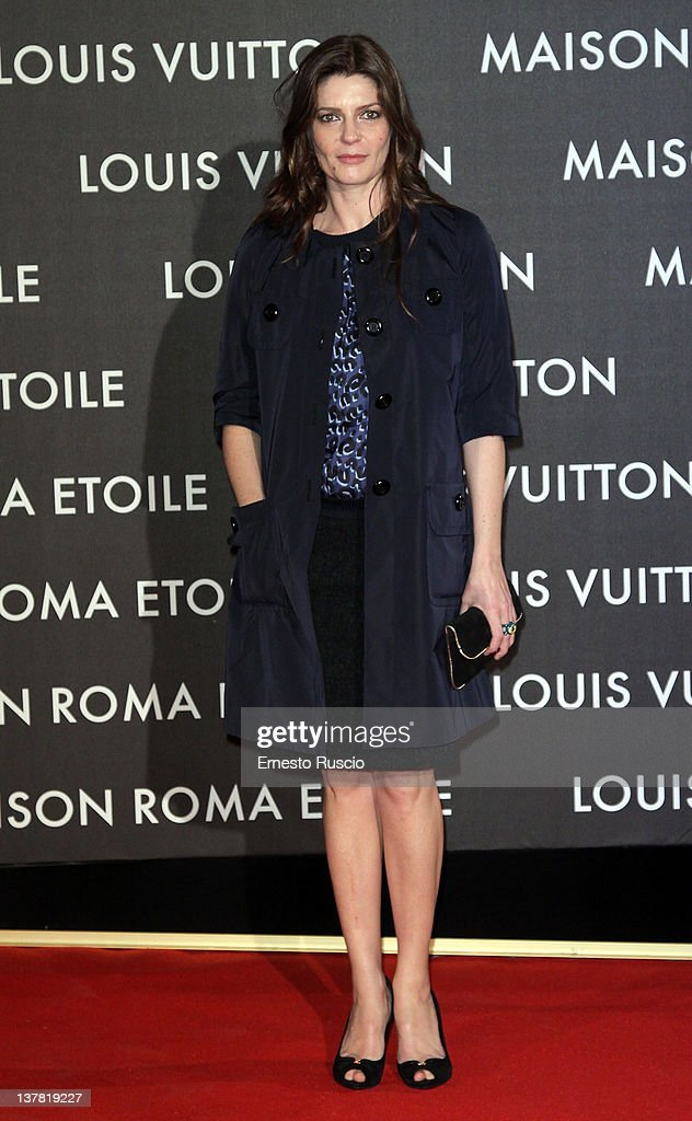 Chiara Mastroianni attends the 'Maison Louis Vuitton Roma Etoile' Opening Party at Ex Istituto Geologico on January 27, 2012 in Rome, Italy.