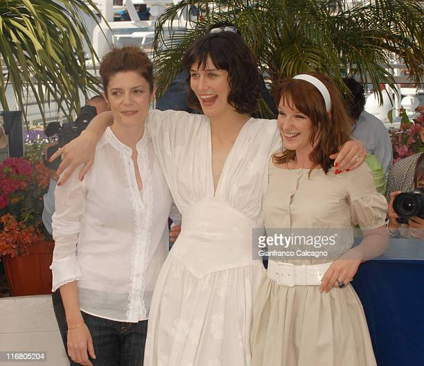 Chiara Mastroianni Clotilde Hesme and Ludivine Sagnier