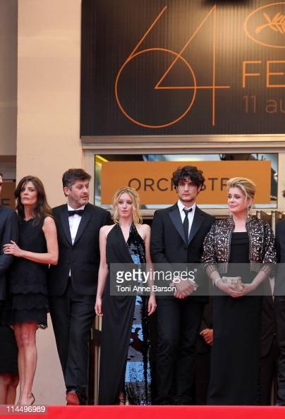 Chiara Mastroianni director Christophe Honore Ludivine Sagnier Louis Garrel and Catherine Deneuve attend the 'Les BienAimes' Premiere and Closing...