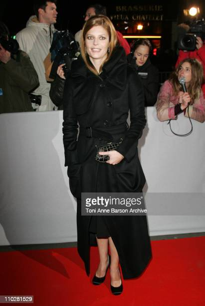 Chiara Mastroianni during 2006 Cesar Awards Ceremony Arrivals at Theatre du Chatelet in Paris France