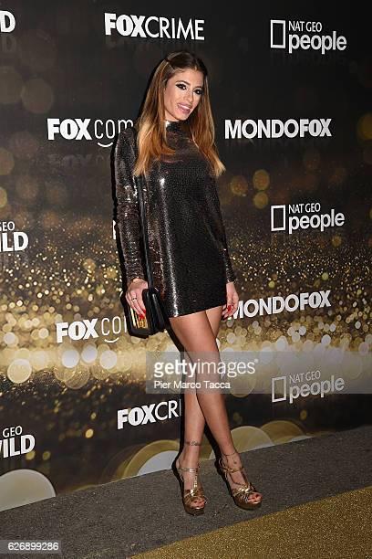 Chiara Nasti attends Fox Tv schedule presentation on November 30 2016 in Milan Italy