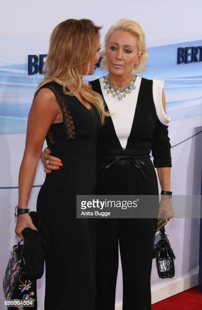 Chiara Ohoven and her sister Claudia Jerger attend the Bertelsmann Summer Party at Bertelsmann Repraesentanz on June 22 2017 in Berlin Germany