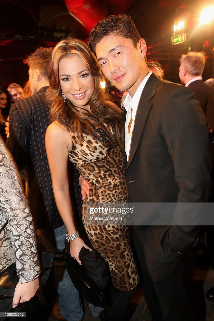 Chiara Ohoven and <a gi-track='captionPersonalityLinkClicked' href=/galleries/search?phrase=Rick+Yune&family=editorial&specificpeople=641299 ng-click='$event.stopPropagation()'>Rick Yune</a> attend the 'Lambertz Monday Night' on January 30, 2012 in Cologne, Germany.