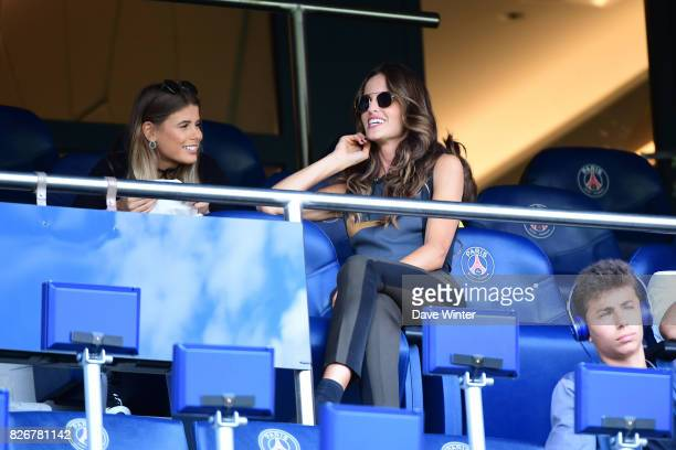 Chiara Picone wife of Javier Pastore of PSG during the Ligue 1 match between Paris Saint Germain and Amiens SC at Parc des Princes on August 5 2017...