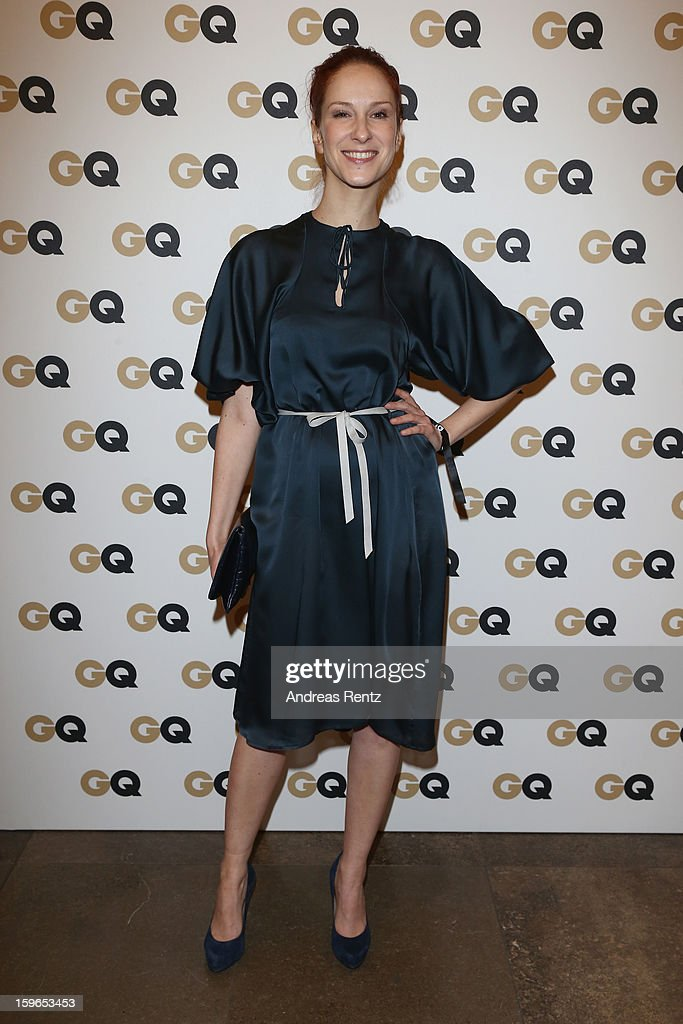 Chiara Schora attends GQ Best Dressed cocktail at Das Stue hotel on January 17, 2013 in Berlin, Germany.