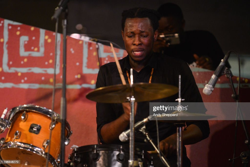 Chibike Odukwe of the band Psylus performs on stage during the London Jazz Festival 2012 on November 13, 2012 in London, United Kingdom.
