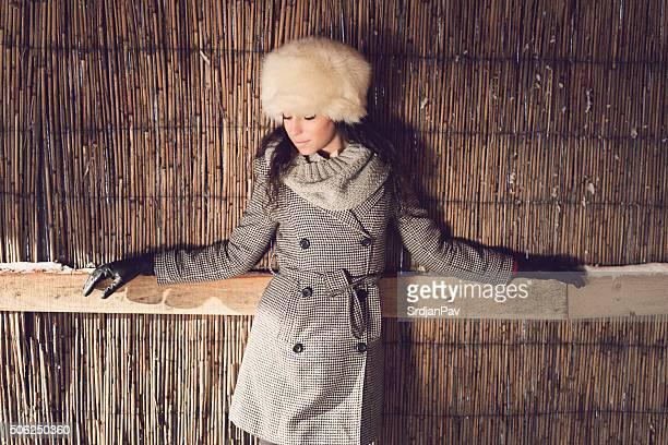Élégante et chaude tenue hivernale