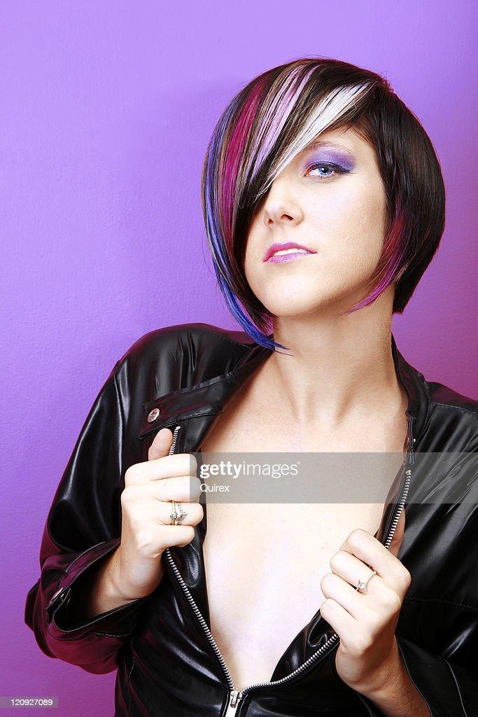 Chic Attitude : Stock Photo