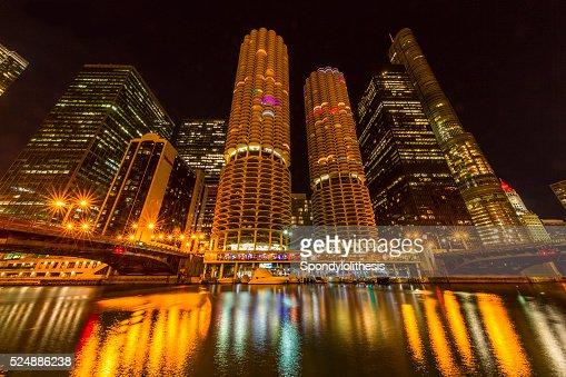 シカゴの建築やシカゴ川