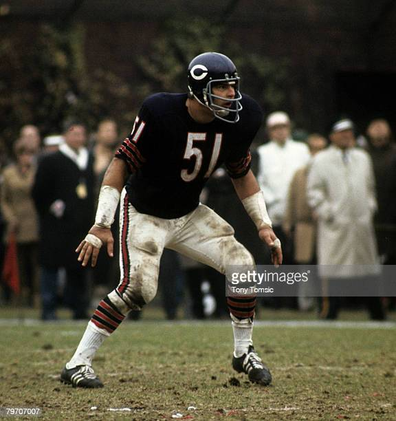 Chicago Bears Hall of Fame linebacker Dick Butkus circa the late1960s