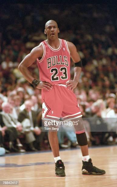 Chicago Bulls AllStar forward Michael Jordan file photos