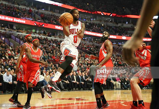 Chicago Bulls guard Aaron Brooks makes a pass during the first half on Monday Jan 5 at the United Center in Chicago