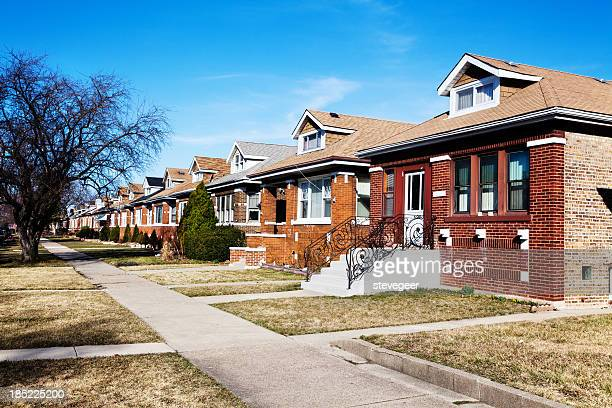 Chicago Bungalows in a Southwest Side Neighborhood