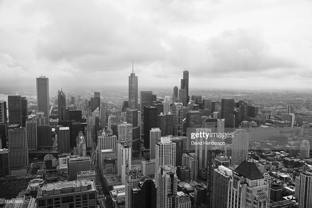 Chicago cityscape : Stock Photo
