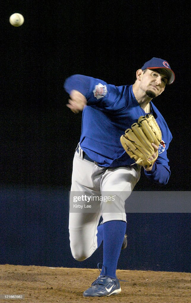 Chicago Cubs starter Matt Clement allowed four runs and seven hits in six innings against the Los Angeles Dodgers at Dodger Stadium on Wednesday May...