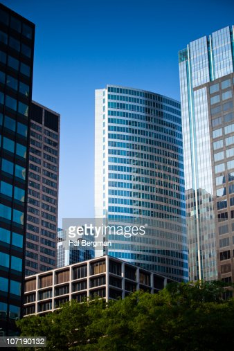 Chicago Financial District Stock Photo  Getty Images