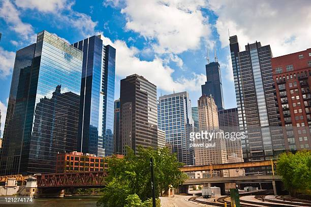 Le quartier financier de Chicago