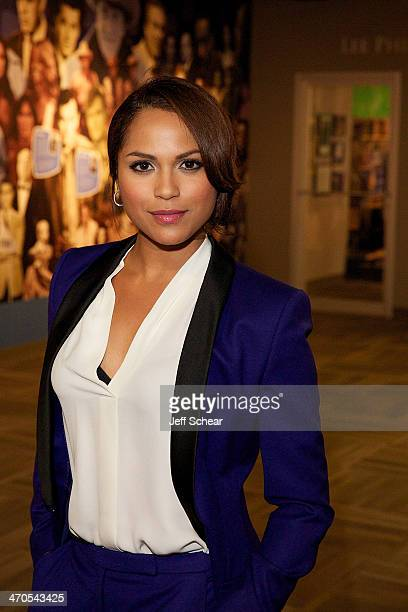 'Chicago Fire' cast member Monica Raymund attends the 'Chicago Fire' And 'Chicago PD' Cast Photo Call at the Museum of Broadcast Communications on...