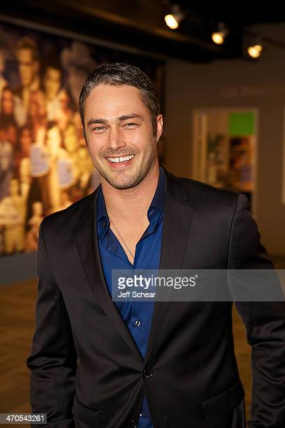 'Chicago Fire' cast member Taylor Kinney attends the 'Chicago Fire' And 'Chicago PD' Cast Photo Call at the Museum of Broadcast Communications on...