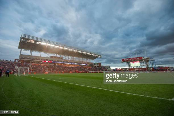 Chicago Fire fans celebrate a goal as red smoke rolls through the field during a game between the Philadelphia Union and the Chicago Fire on October...