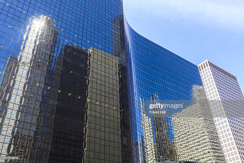 Chicago high rise office buildings : Photo