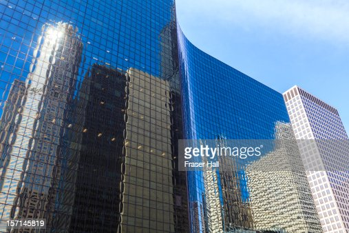 Chicago high rise office buildings : Stock Photo