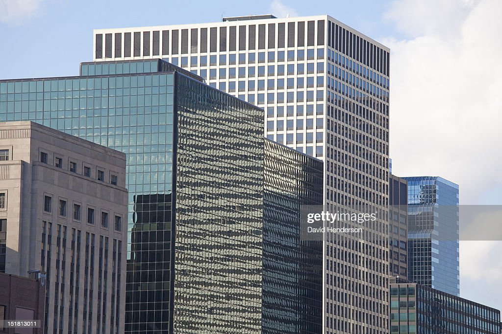 Chicago highrise buildings : Stock Photo