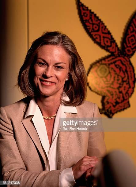 Christie Hefner is the CEO of Playboy Enterprises