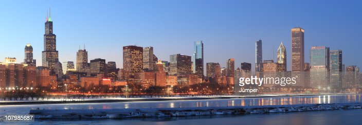Chicago, Illinois : Stock Photo