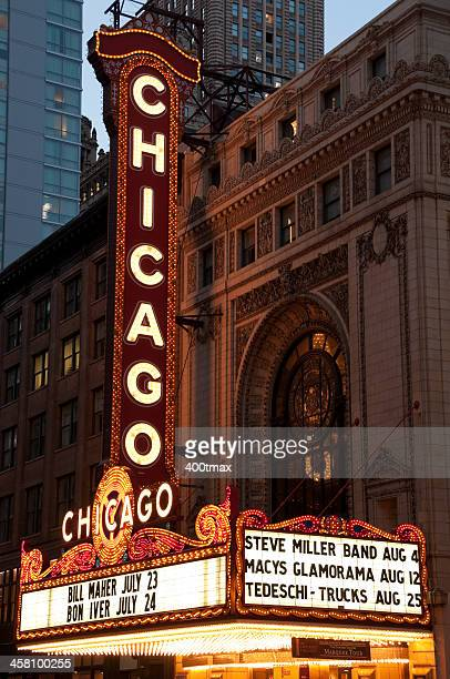 Chicago Marquee Theater Sign