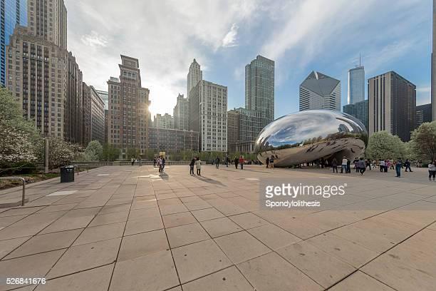 chicago millennium park in Downtown