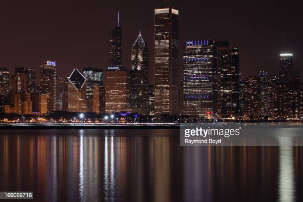 Chicago participated in the Autism Speaks 'Light it Up Blue' campaign to celebrate World Autism Awareness Day and Autism Awareness Month in Chicago...