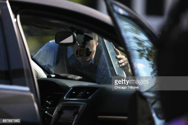 Chicago Police officers investigate the scene of a shooting on the 600 block of East 82nd Street Sunday June 18 in the Chatham neighborhood A...