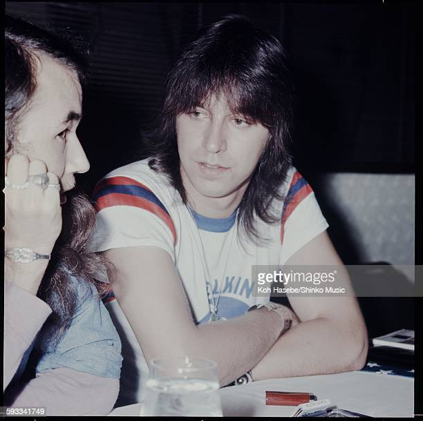 Chicago Robert Lamm press conference on their visit to Japan Tokyo June 1971