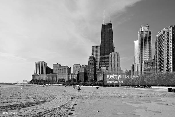 Chicago Skyline along the Gold Coast