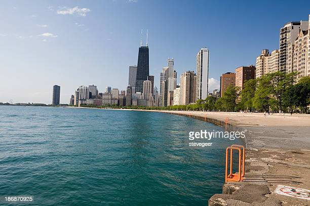 Chicago Skyline from Gold Coast