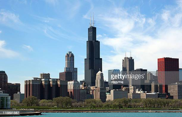 Chicago skyline on a clear day
