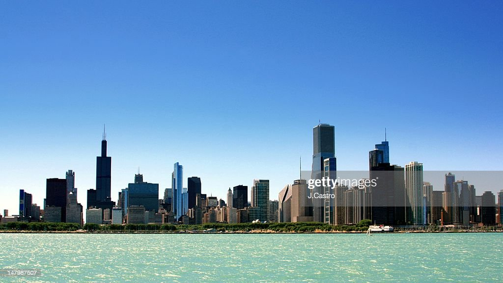 Chicago skyline : Stock Photo