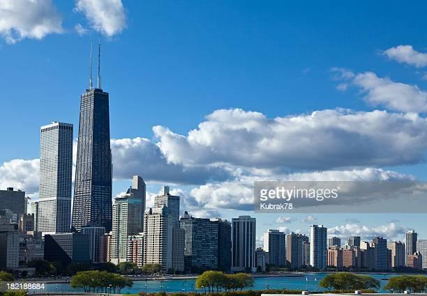 Vista de los edificios de Chicago