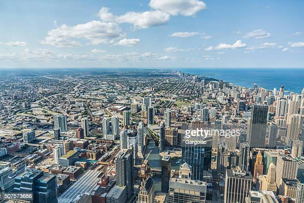 Chicago skyline, USA, Illinois