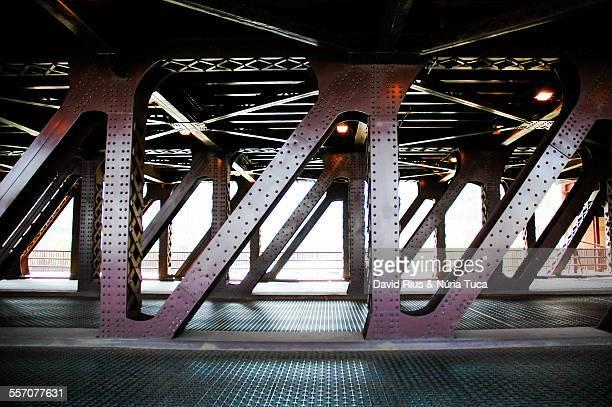 Chicago train structure
