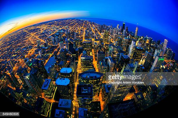 Chicago twilight
