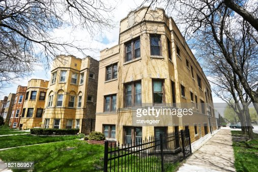 Chicago Vintage Apartment Buildings in Portage Park