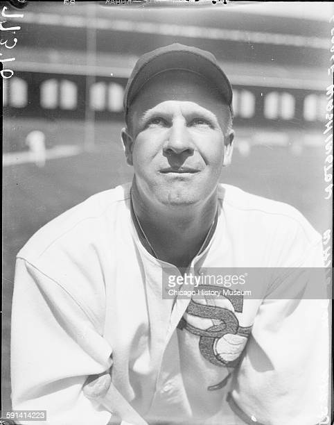 Chicago White Sox baseball player Vernon George Washington Chicago Illinois May 1935 From the Chicago Daily News collection