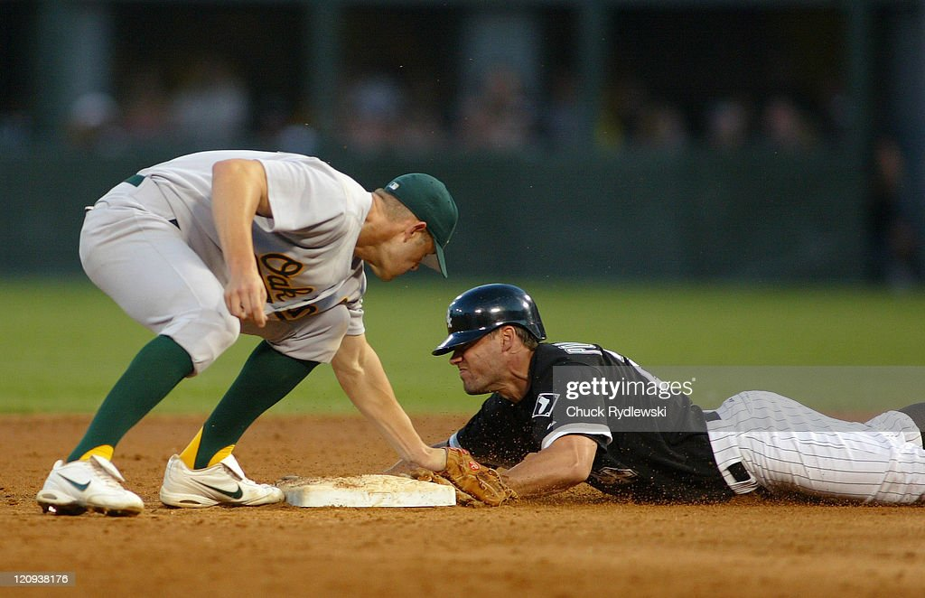 Oakland Athletics vs Chicago White Sox - July 8, 2005
