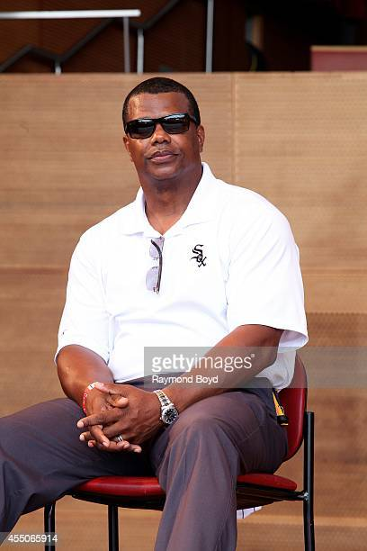 Chicago White Sox Executive VicePresident Kenny Williams makes an appearance during the Jackie Robinson West US Little League World Series...
